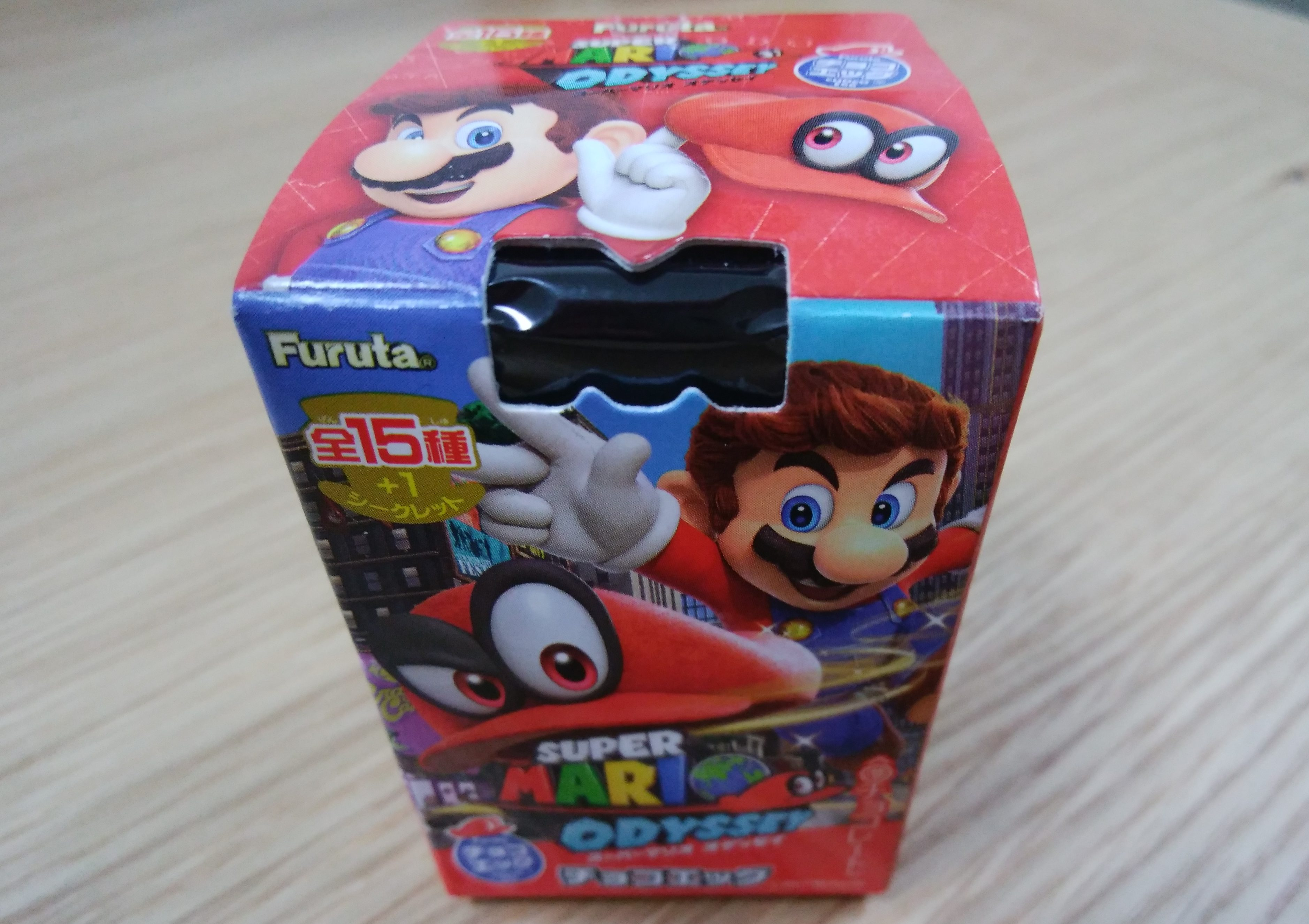 今回のチョコエッグはスーパーマリオオデッセイ!switchのソフトが当たる?